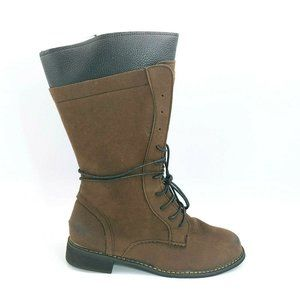 Womans MidCalf Lace Up Front Winter Boot 40 NEW